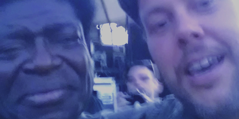 Brandon Wilson and Charles Bradley